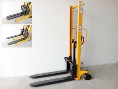 Nový ruční vysokozdvižný vozík MFP10/16