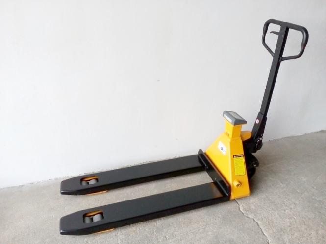 Nový paletový vozík s váhou a tiskárnou MV20MT