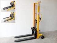 Nový ruční vysokozdvižný vozík MFPR10/16 - rychlozdvižný