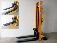 Nový ruční vysokozdvižný vozík MFPR15/30 - rychlozdvižný